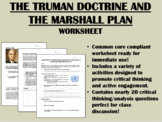 Truman Doctrine & the Marshall Plan - Cold War - Global/US