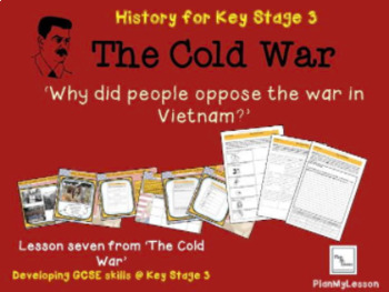 The Cold War: 'Why did people oppose the war in Vietnam?'