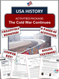 The Cold War and America - 1960 to 1989 - 8 Pages of Diver