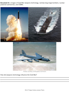 DBQ: The Cold War and International Relations