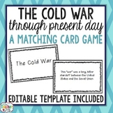 The Cold War to Present Day Card Game