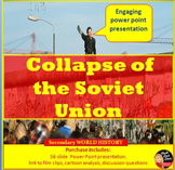 Cold War - The Collapse of the Soviet Union Lecture Power Point