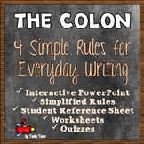 Colons: Simplified Rules and Practice for Everyday Writing
