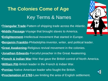 The Colonies Come of Age-Chapter 1, Section 4