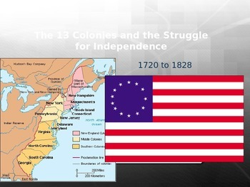 The Colonies Struggle for Independence