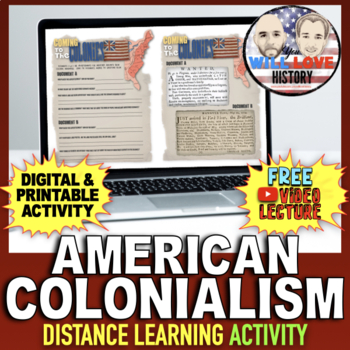 American Colonialism Activity