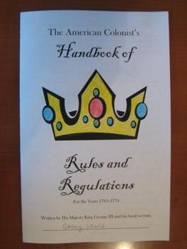 The Colonist's Handbook of Rules and Regulations