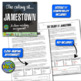 The Colony at Jamestown: A Close Reading Activity!  1:1 Google Compatible!