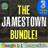 Jamestown Colony Bundle:  Close Read, Image Sort, and Fort Investigation!
