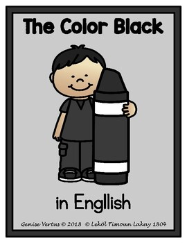 The Color Black: Charts in English