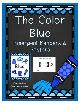 The Color Blue {Emergent Readers & Posters}