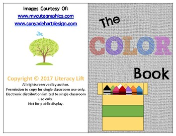The Color Book - Guided Reading Levels aa / A