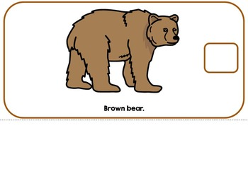 The Color Brown- Adapted Interactive Book {Autism, Early Childhood, Special Ed}