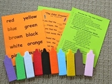 The Color Crayons Flannel Board Set