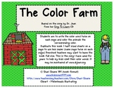 The Color Farm - Color Word Practice