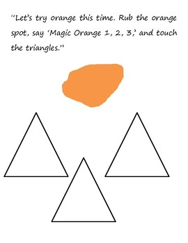 The Color Finger Book with Shapes (for early learners)