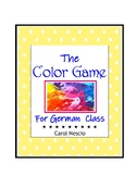 The Color * Game For German Class