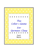 Colors In German ~ The Color Game
