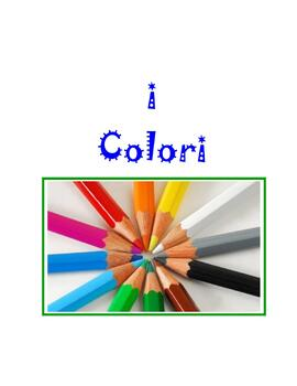 The Color * Game For Italian Class