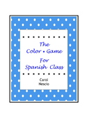 The Color * Game For Spanish Class