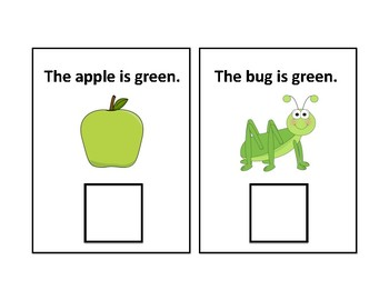 The Color Green Adapted Book - Differentiated - interactive #thankyou17