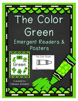The Color Green {Emergent Readers & Posters}