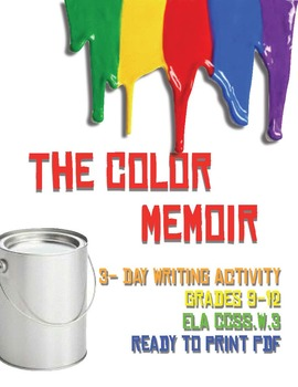 The Color Memoir: A 3-Day Writing Activity and Lesson
