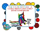 The Color Monster - A Story About Emotions Book Companion