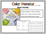 The Color Monster- Book Activity