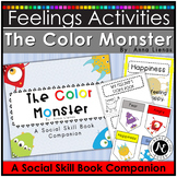 Feelings Activities for The Color Monster Social Skill Groups