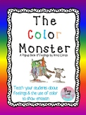 The Color Monster -  Emotions Activity