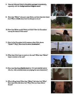 The Color Purple Packet Film (1985) Study Guide Movie Packet