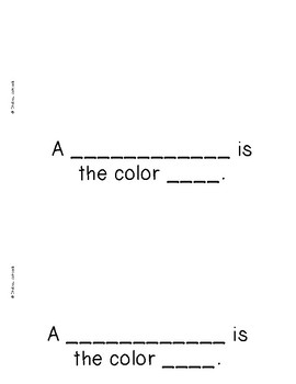 The Color Pink {Emergent Readers & Posters}