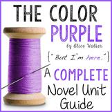 The Color Purple: A COMPLETE Novel Unit!