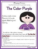 The Color Purple Activity Sheets