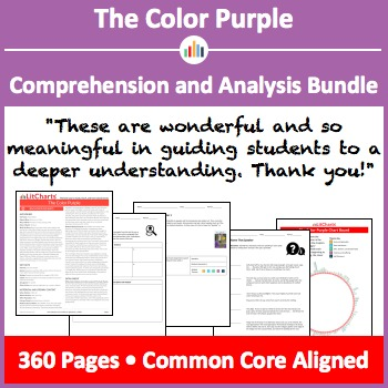 The Color Purple – Comprehension and Analysis Bundle