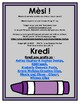 The Color Purple: Poster and Coloring Sheet in Haitian Creole (Haiti) FREEBIE