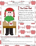 The Color Red Activity Sheets