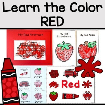 COLOR OF THE WEEK: RED | Activities for Learning Colors in the Classroom