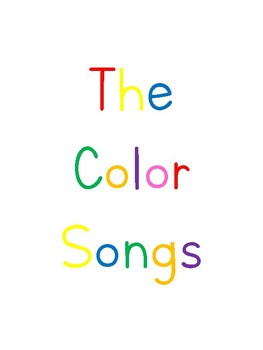 The Color Songs Lyrics