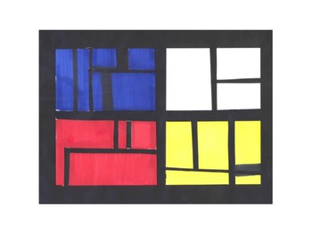 The Color Wheel - Mondrian, Silhouettes, and Color Theory