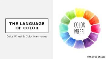 The Color Wheel & Color Harmonies