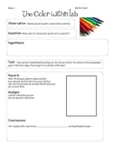 The Color Within Marker Lab - Intro on the Scientific Method