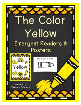 The Color Yellow {Emergent Readers & Posters}