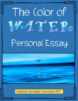 The Color of Water Novel: Personal Narrative