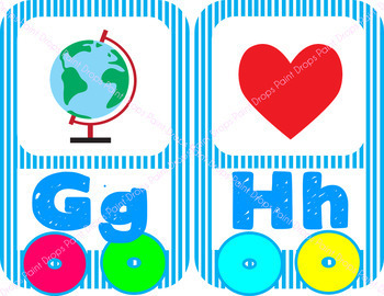 The Colorful Alphabet Beginning Sounds Posters Train Edition {Classroom Decor}
