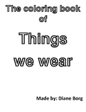 The Coloring Book of Things We Wear (USA version)