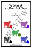 The Colors Of Baa, Baa, Black Sheep