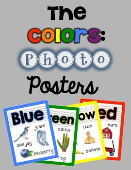 The Colors Photo Posters