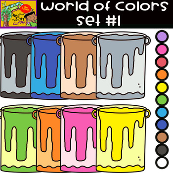 The Colors - World of colors - 12 Items - Set #1